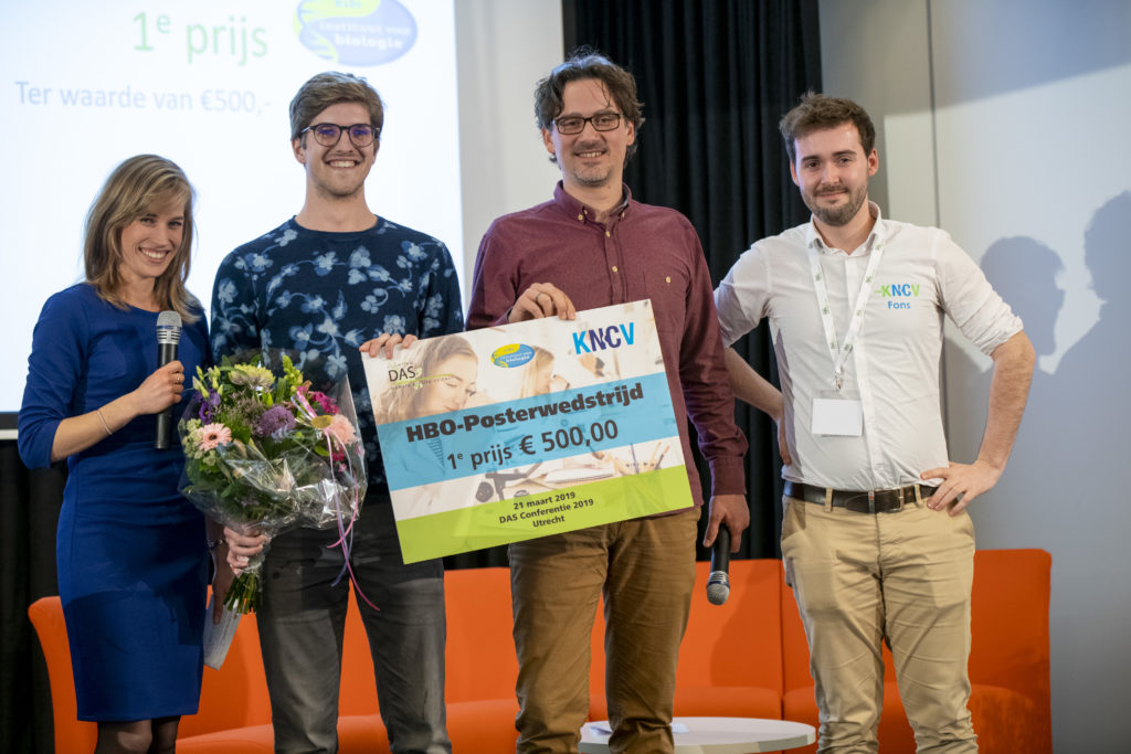 Student Anne Tuinstra wint Applied Science Poster Competition